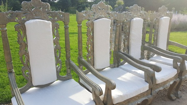 Event Antique Throne Chairs