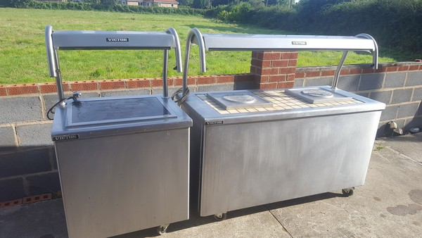 Carvery/Hot Cupboard/Heated Gantry - Matched Pair