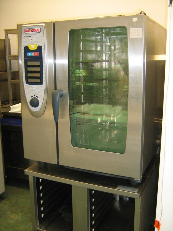 Rational SCC101 Electric 10 Grid Combination Oven