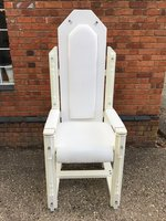 White Throne Prop