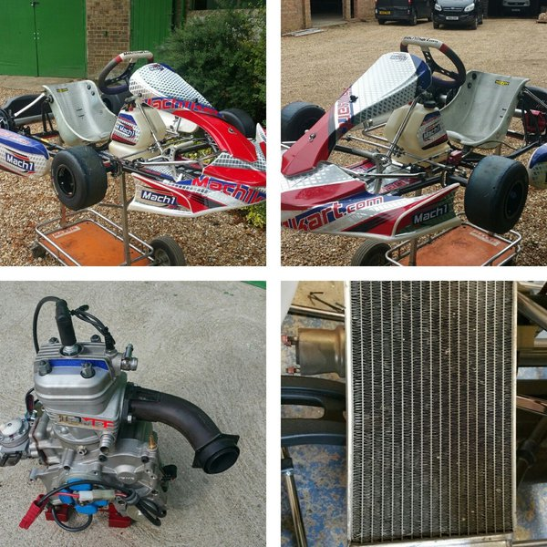 Mach1 2017 Rolling Chassis With Lame X30 Engine And Setup