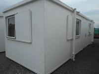 32' x 10' Anti Vandal Portable Building Converted In To 2 Completely Separate Offices