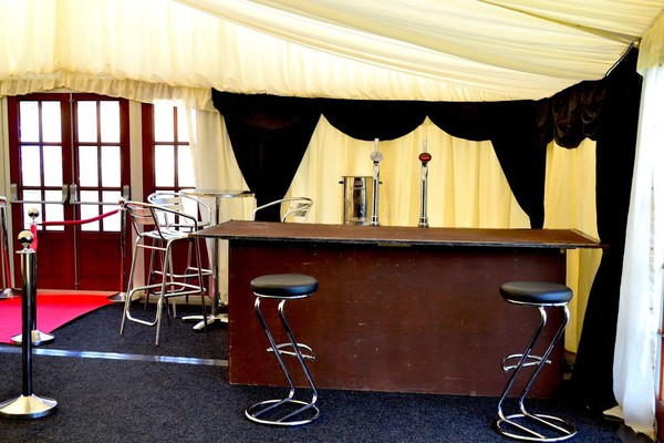 Mobile Wooden Event Bars