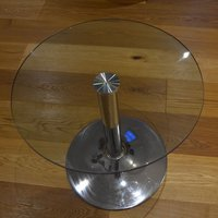 6 x Glass Top Coffee Tables