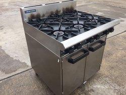 Blue Seal 6 Burner Range Oven