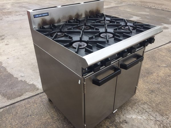 Blue Seal 6 Burner Range Oven