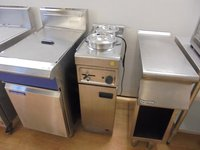 Used hot cupboard with Bain Marie