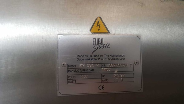 Euro Grill Double Rotisserie Oven