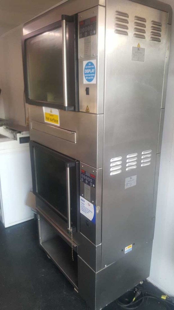 Used Double Rotisserie Oven for sale