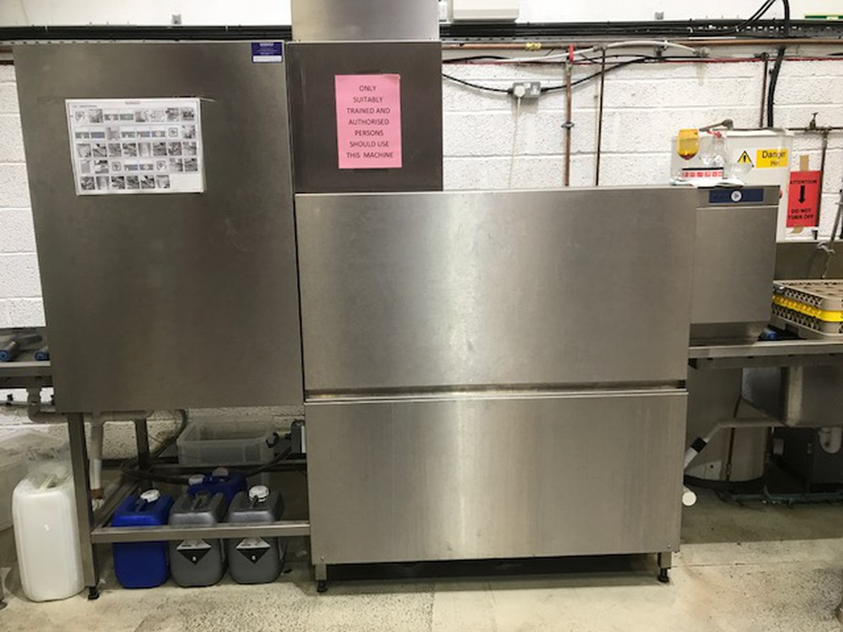 Secondhand Catering Equipment Pass Through Dishwasher