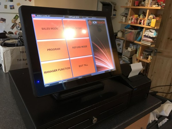 Epos Till System With Thermal Printer By Varipos