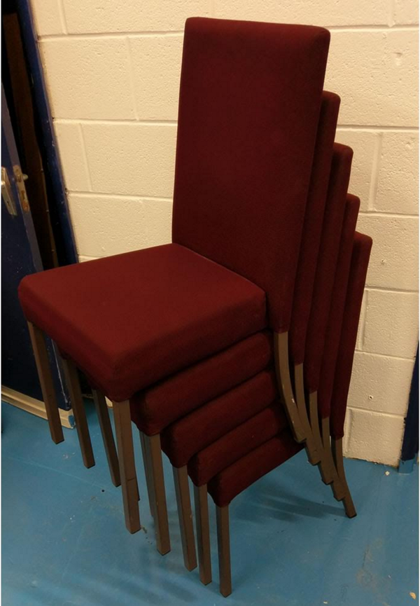 Stackable ex hotel chairs for sale