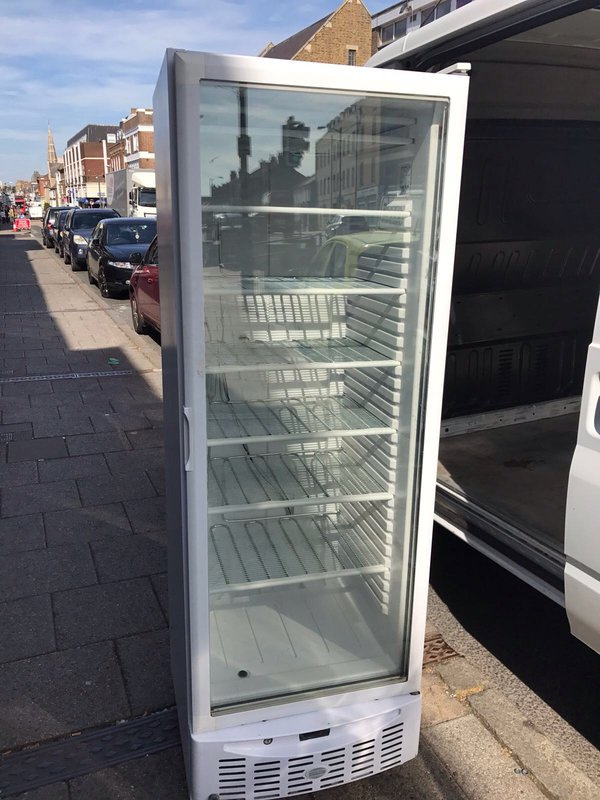 Glass Fronted Display Freezer