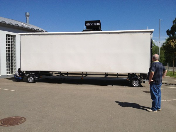 Exhibition trailer for sale swindon