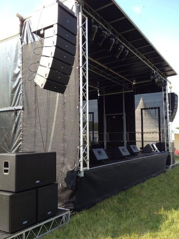 Portable stage trailer UK