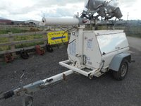 Used towable lighting tower