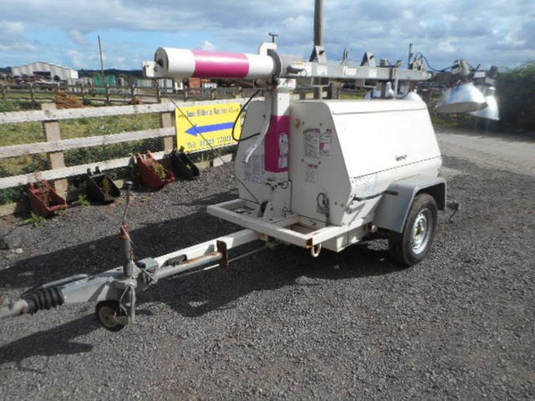 Towable lighting trailer for sale