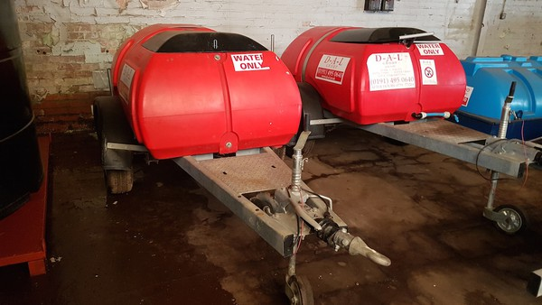 Second Hand 1000 Litre Road Tow Water Bowsers