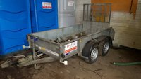 Ifor williams 8foot plant trailer