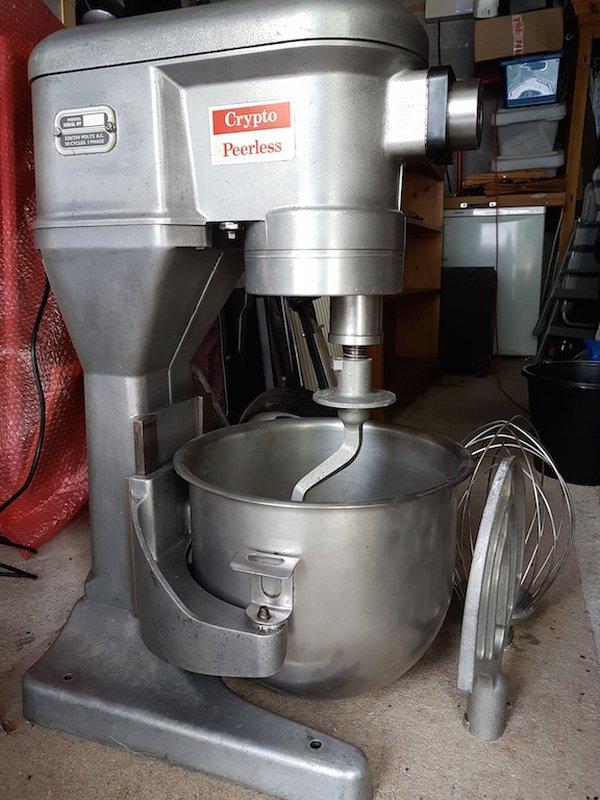 Crypto Peerless EC20 planetary food mixer