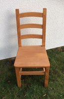 Beautiful Beech Farmhouse Chairs