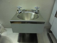 Wall mounted hand wash sink