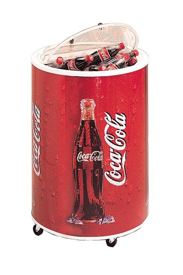 Coca Cola Can Shaped Cooler / Chiller / Can Dump / Merchandiser