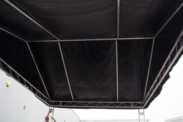 Stage and stage roof for sale UK