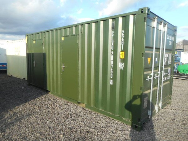 Used single trip shipping container