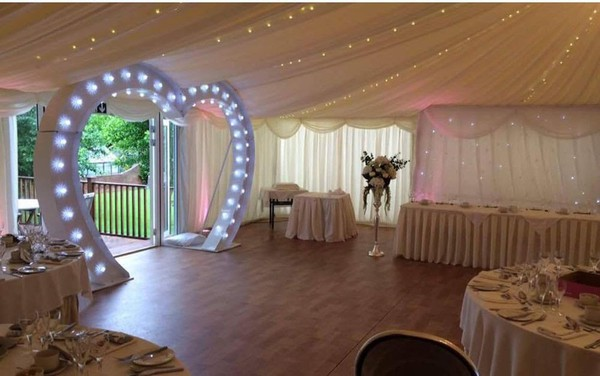 Used LED Heart arch for sale