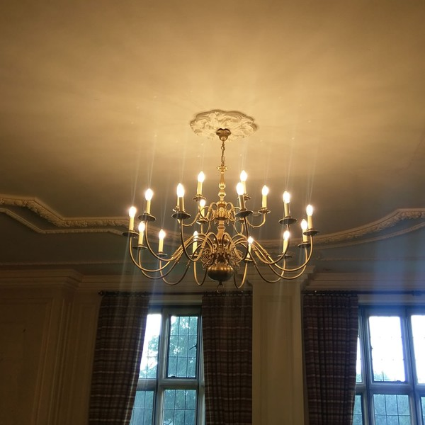 Ex hotel chandelier UK