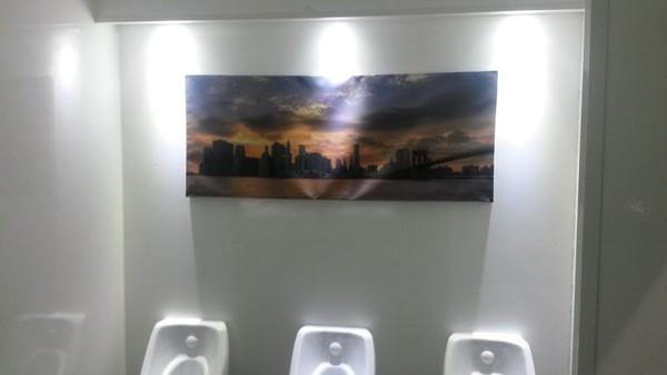 Luxury 3+1 toilet trailer urinals