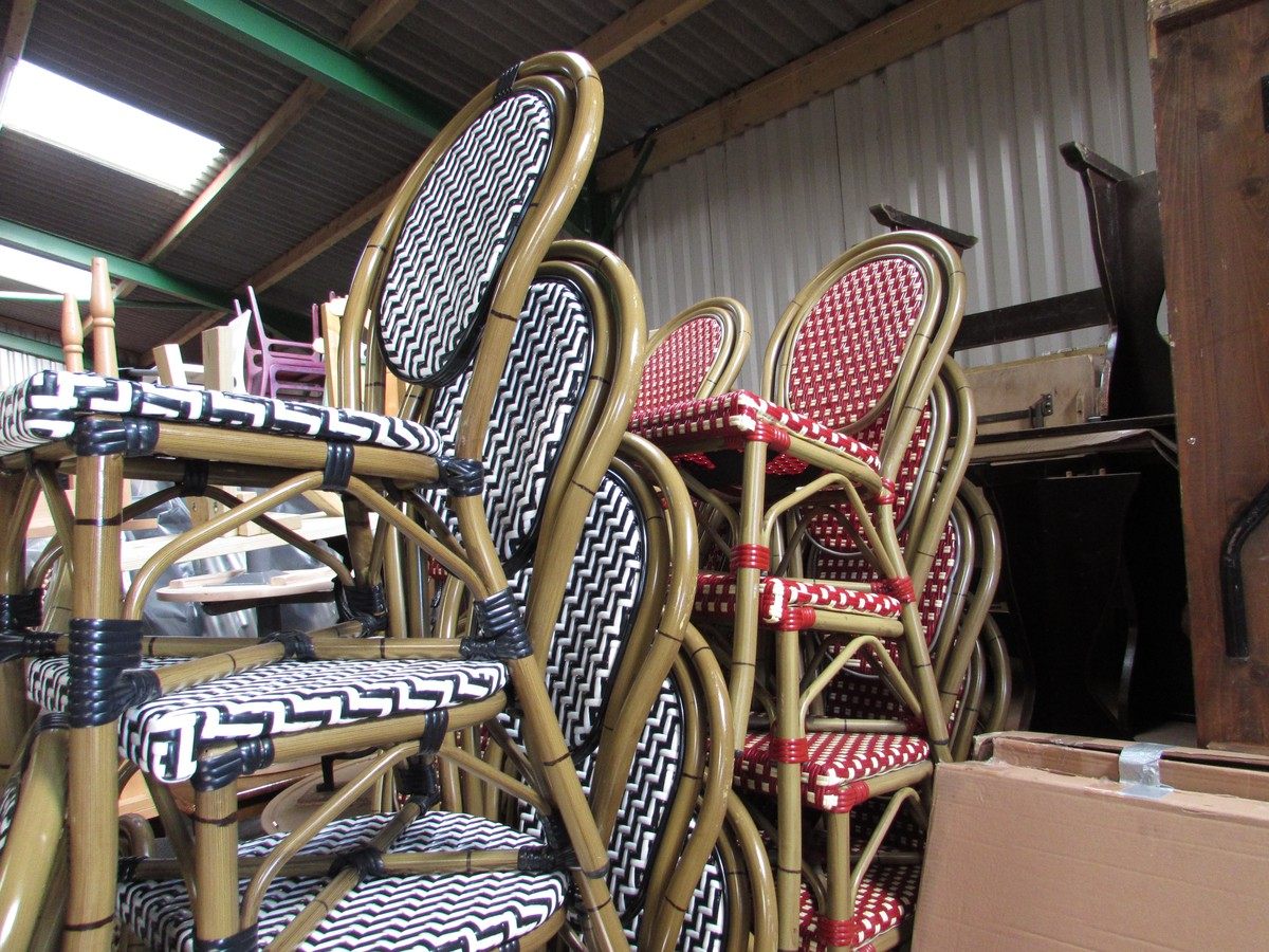 French Style Bistro Chairs ...