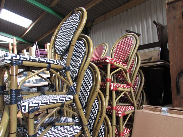 French style bistro chairs