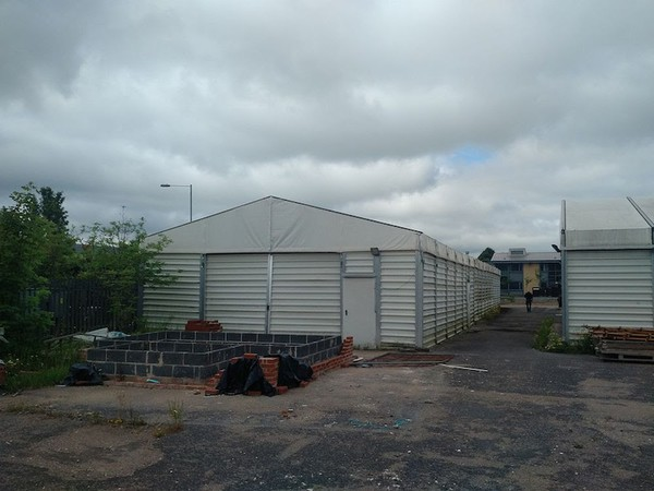Second hand temporary warehouse for sale