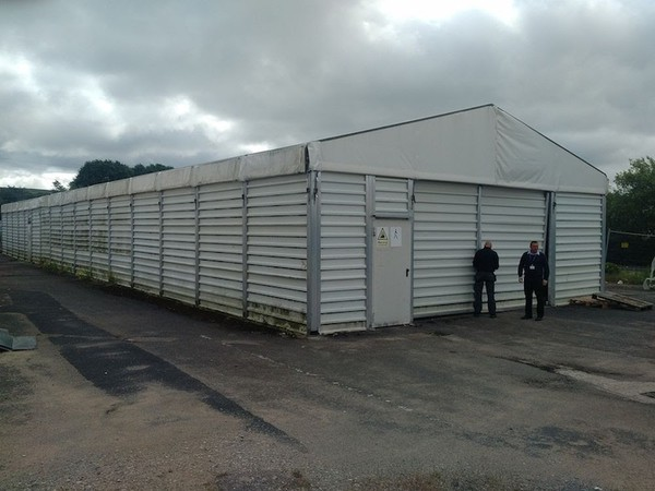 Site storage warehouse UK
