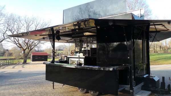Mobile bar unit business for sale