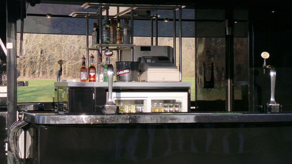 Used mobile bar unit and business UK