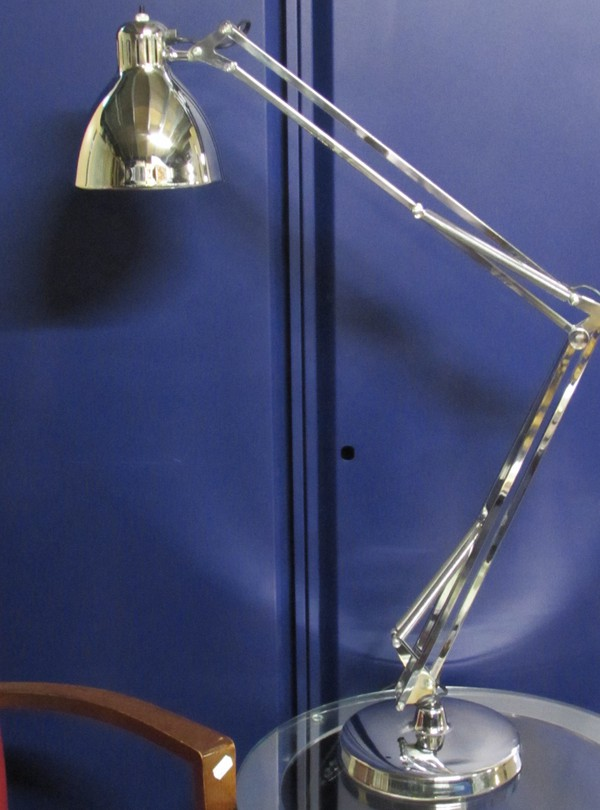Used chrome lamp for sale