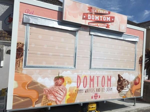 festival catering trailer UK