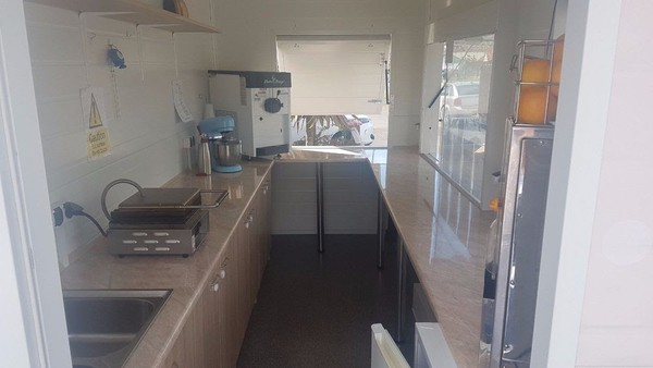 Used catering trailer