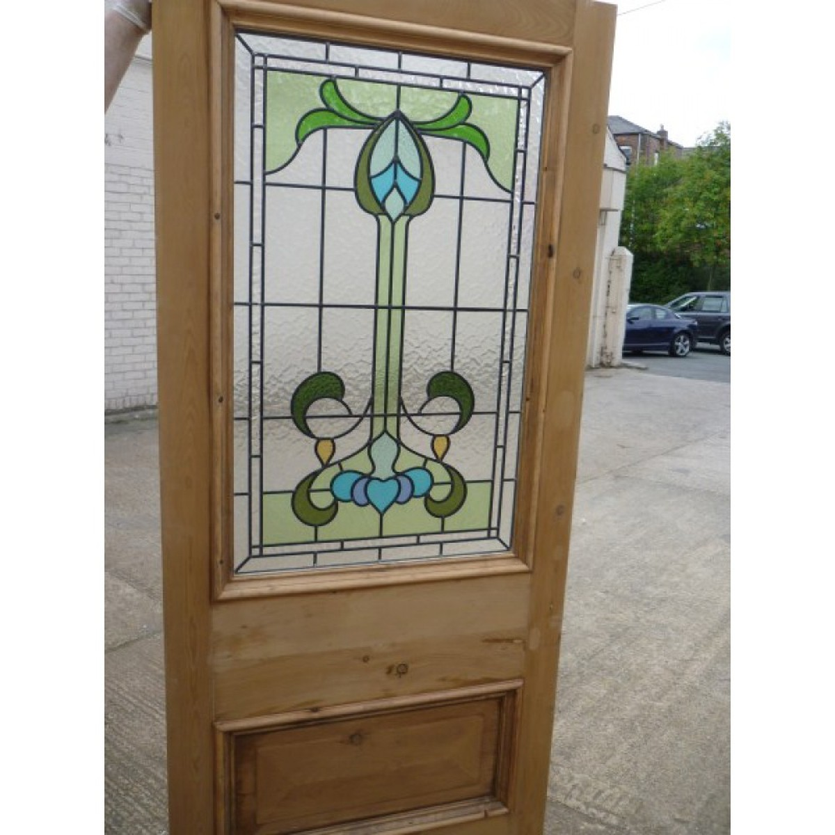 Victorian Glass stained door for sale ...  sc 1 st  Secondhand Vintage and Reclaimed & Secondhand Vintage and Reclaimed | Doors and Windows | Victorian ...