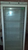 Glass Fronted Fridge (7' tall approx)