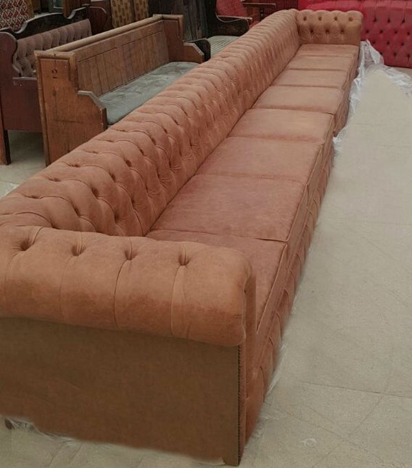 20Ft Leather Sofa