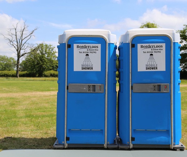 secondhand portable shower unit