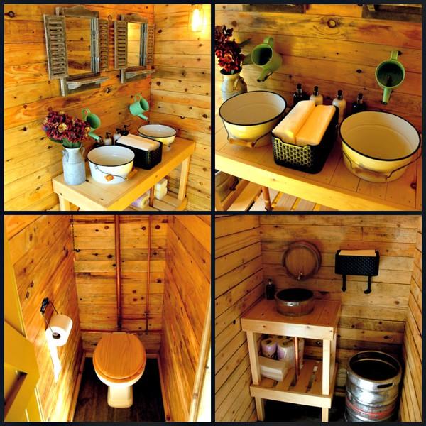 3 + 1 toilet trailer