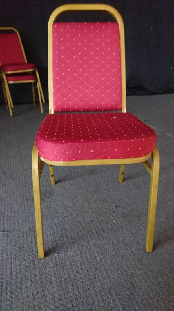Red Banqueting Chairs UK