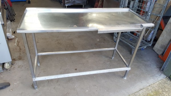Stainless Dishwasher Out Table for sale
