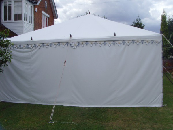 Indian framed marquee