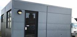 Temporary 2 Bay Modular Office, Canteen Building 6.2m x 6.2m